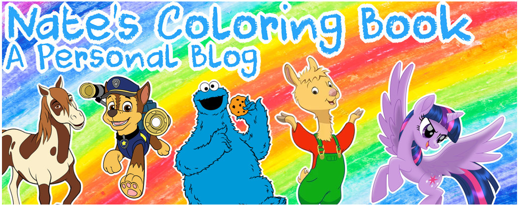 🖍️🌈💙Nate's Coloring Book💙🌈🖍️